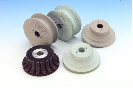 Polishing wheels for CN